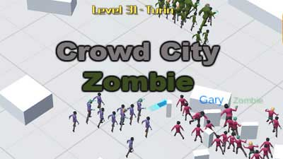 Crowd City 3 zombie